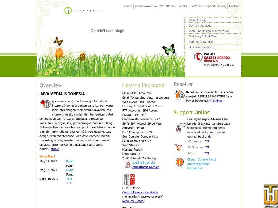 javanesia.com Screenshot