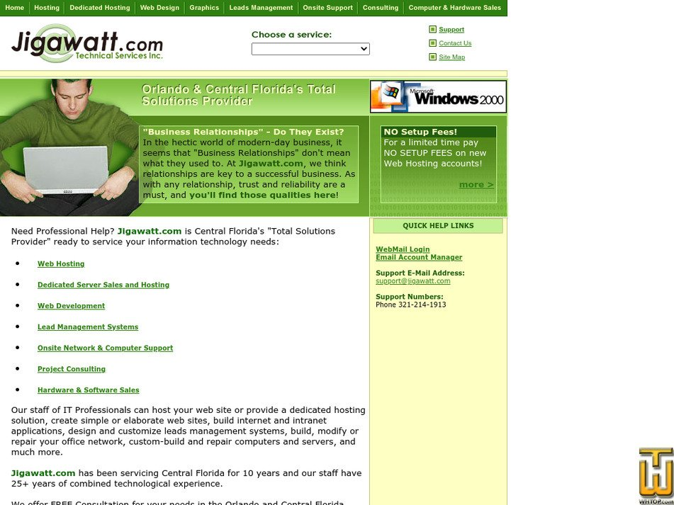 jigawatt.com Screenshot