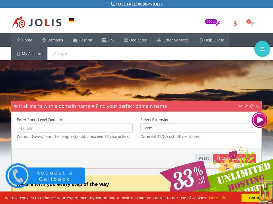jolis.net Screenshot