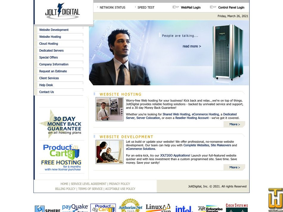 joltdigital.com Screenshot