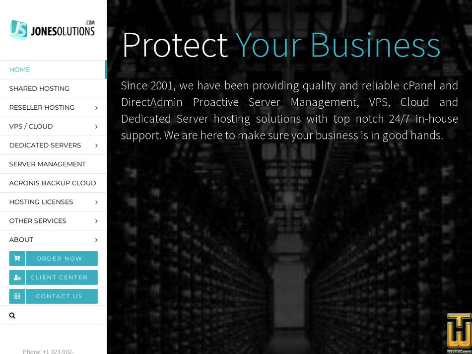jonesolutions.com Screenshot