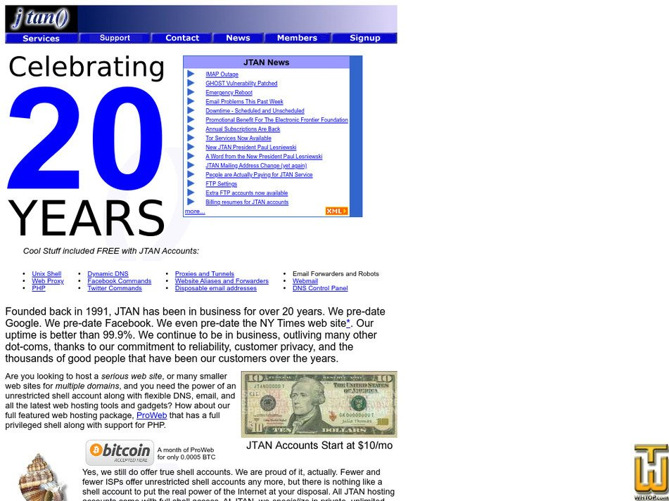 jtan.com Screenshot