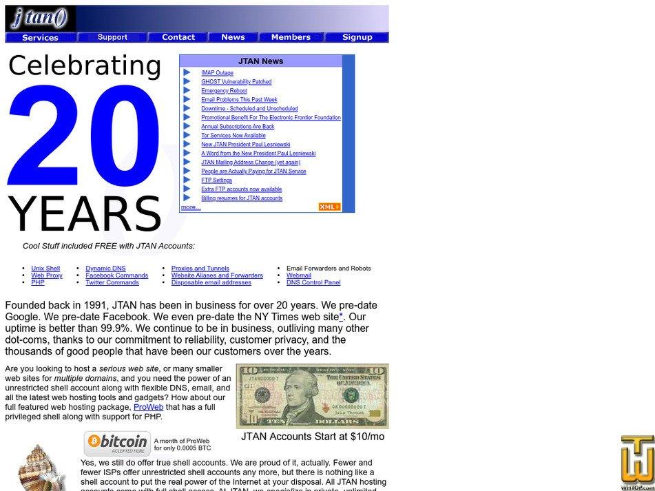jtan.com Screenshot