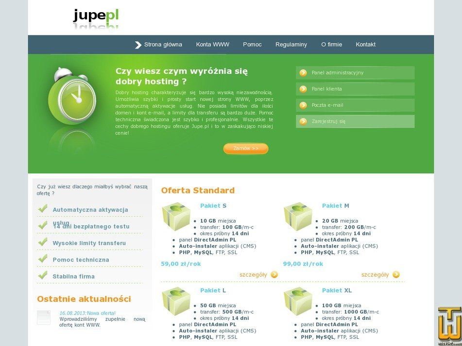 jupe.pl Screenshot