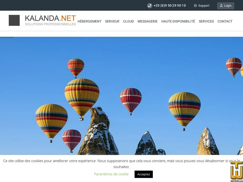 kalanda.net Screenshot