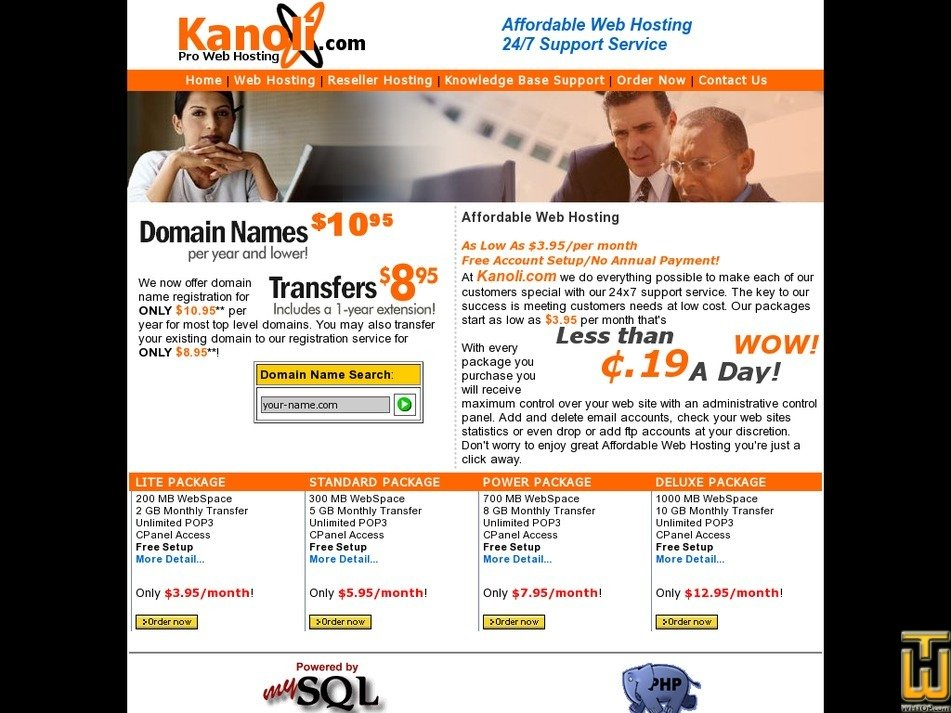 kanoli.com Screenshot