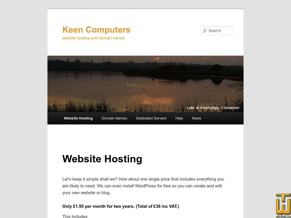 keen2c.co.uk Screenshot