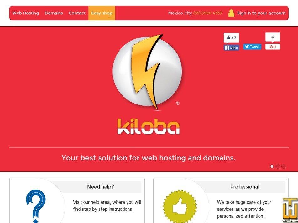 kiloba.com Screenshot