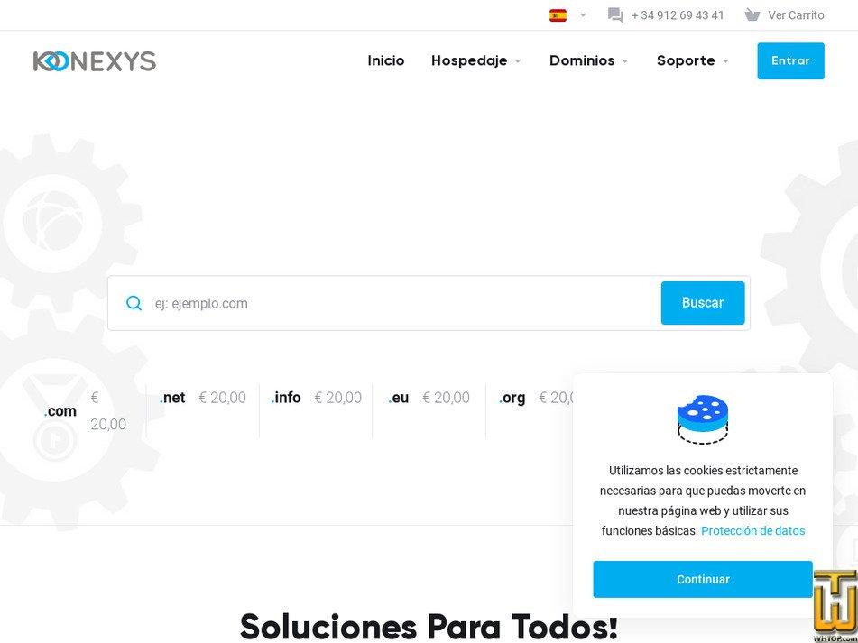konexys.com Screenshot