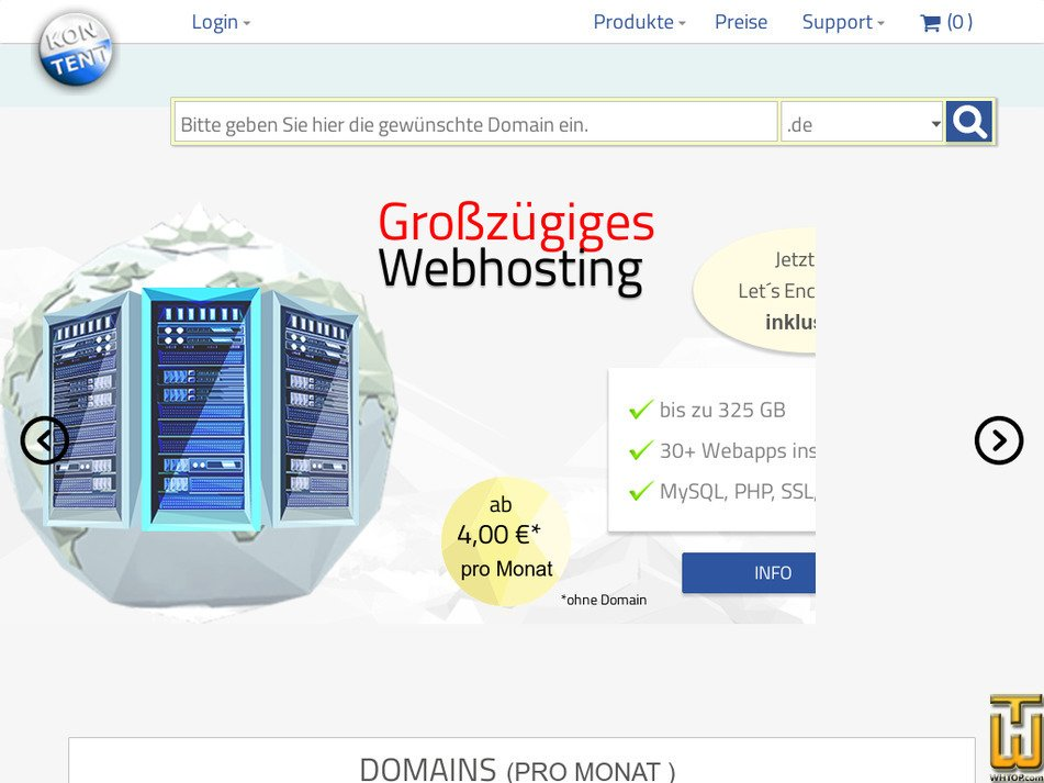 kontent.com Screenshot