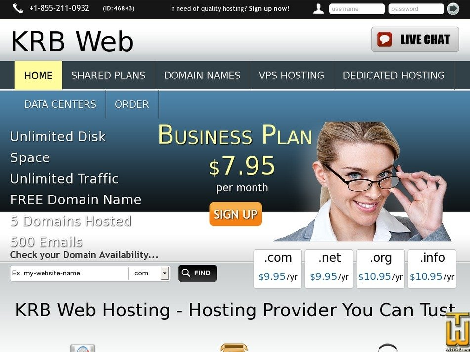 krbweb.com Screenshot