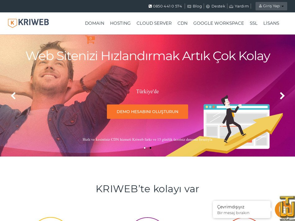 kriweb.com Screenshot