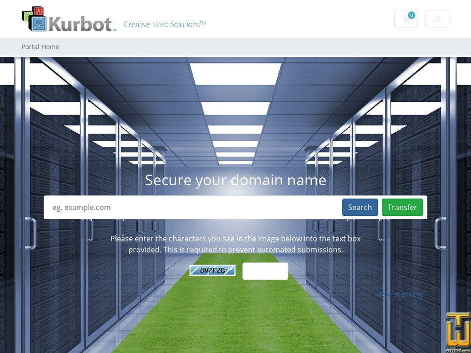 kurbot.com Screenshot