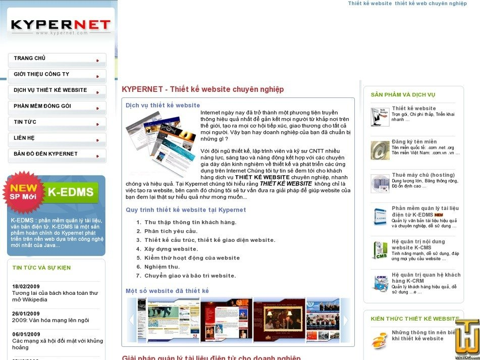 kypernet.com Screenshot