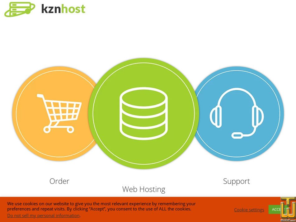 kznhost.com Screenshot