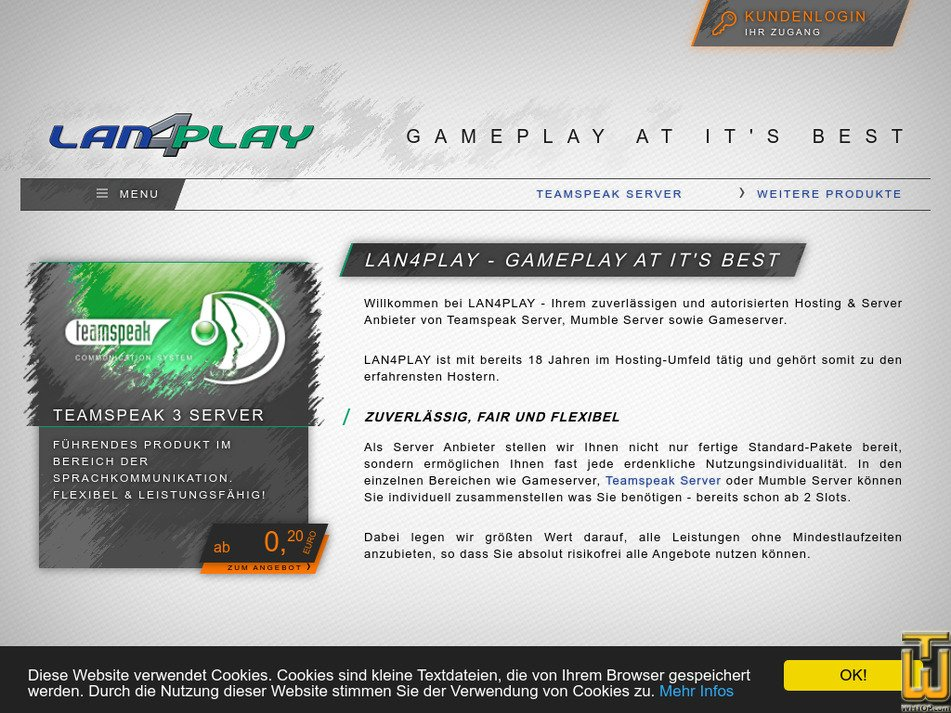 lan4play.de Screenshot