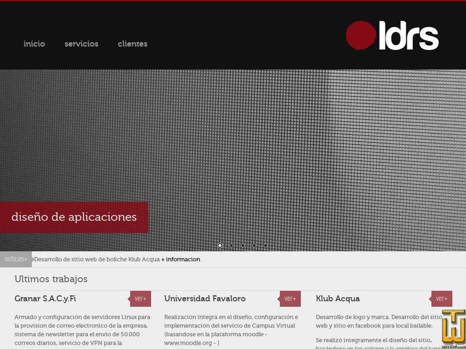 ldrs.com.ar Screenshot