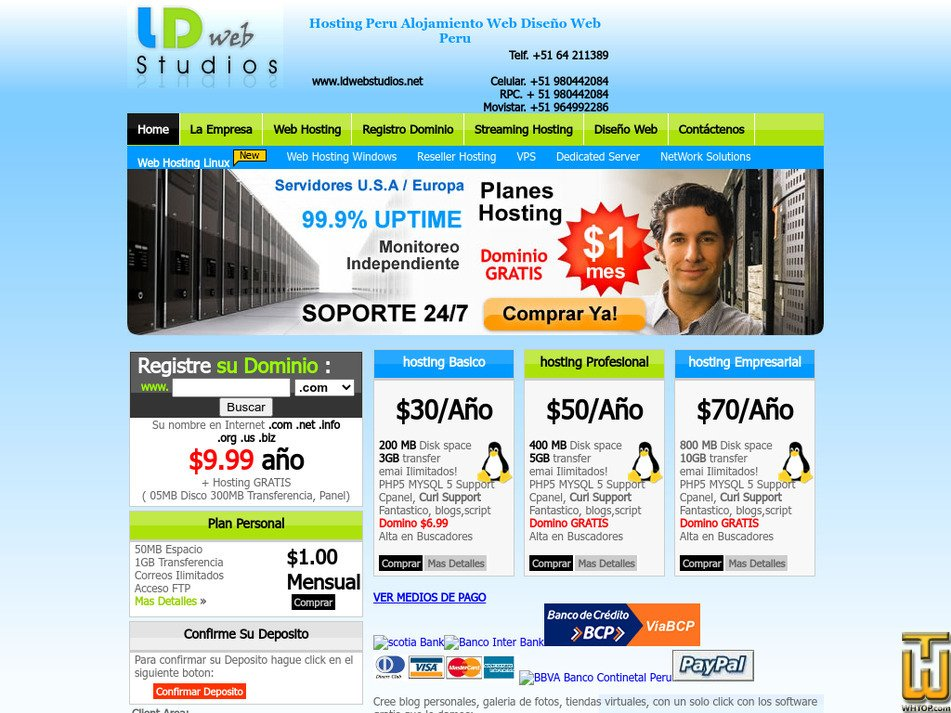 ldwebstudios.net Screenshot
