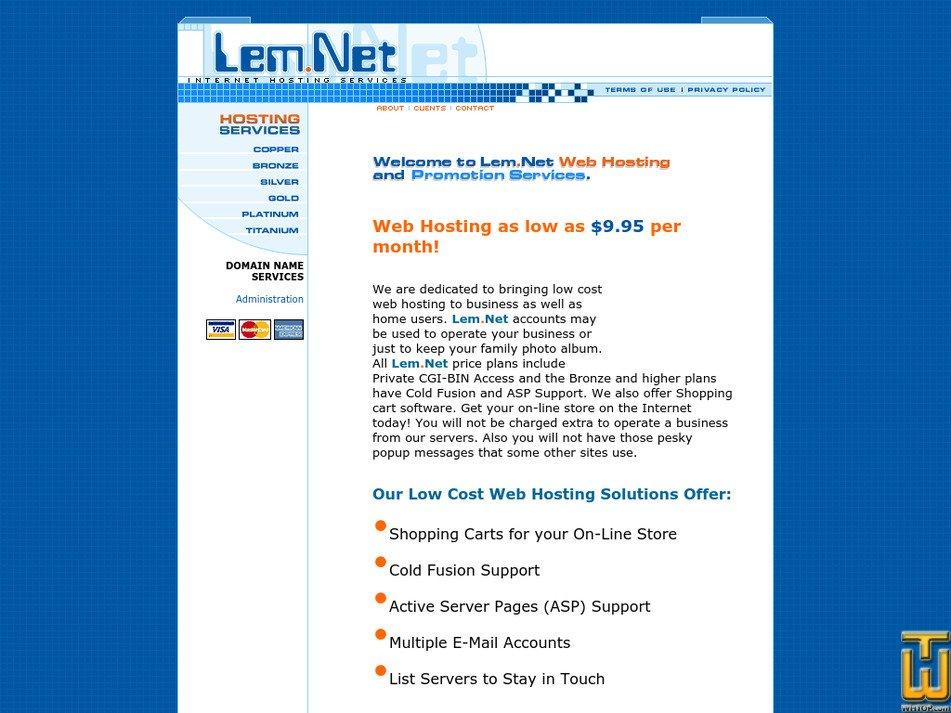 lem.net Screenshot