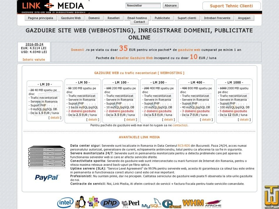 link-media.ro Screenshot