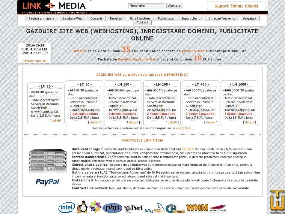link-media.ro Screenshot
