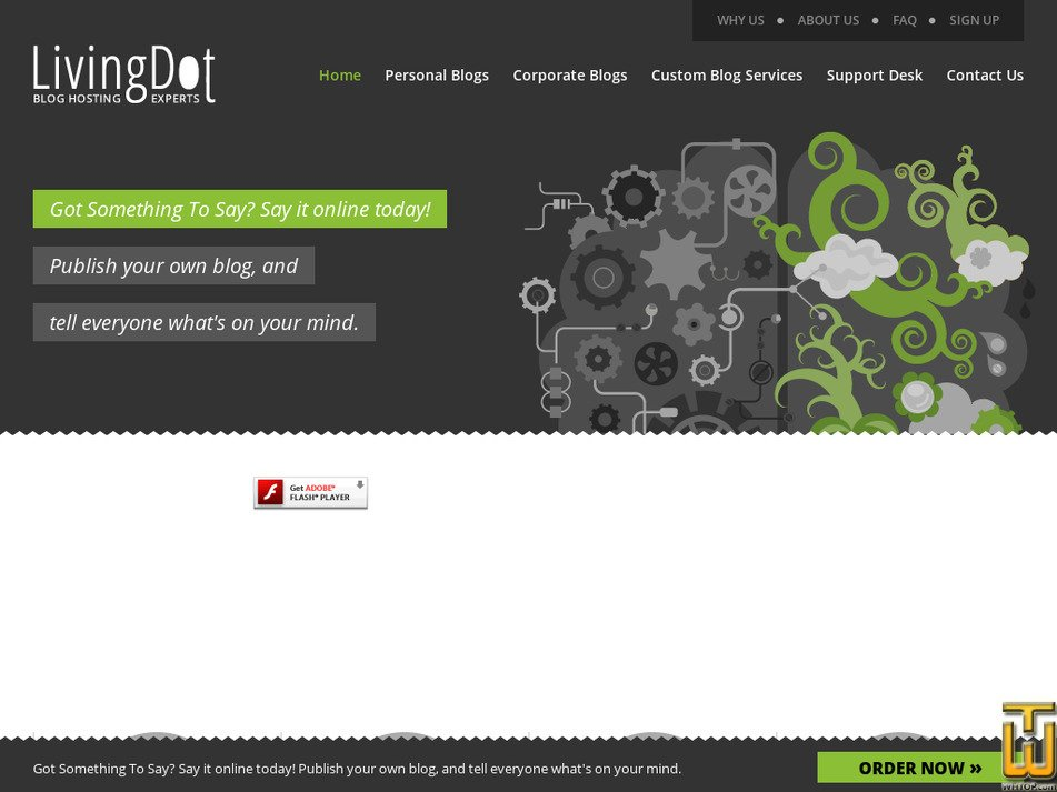 livingdot.com Screenshot