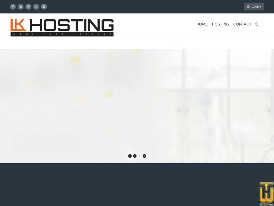 lkhosting.com Screenshot