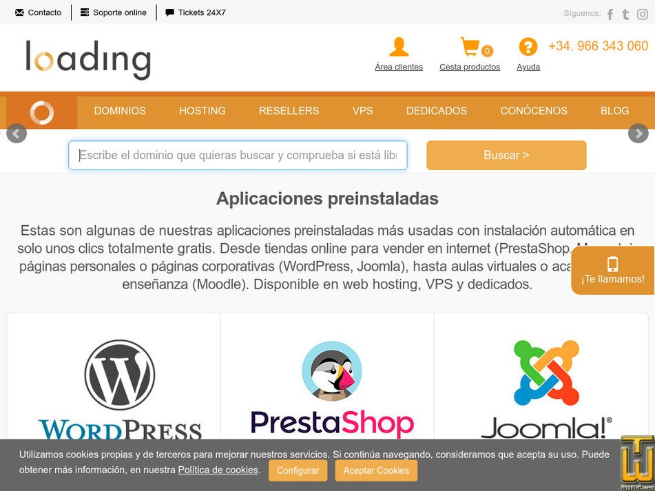 loading.es Screenshot