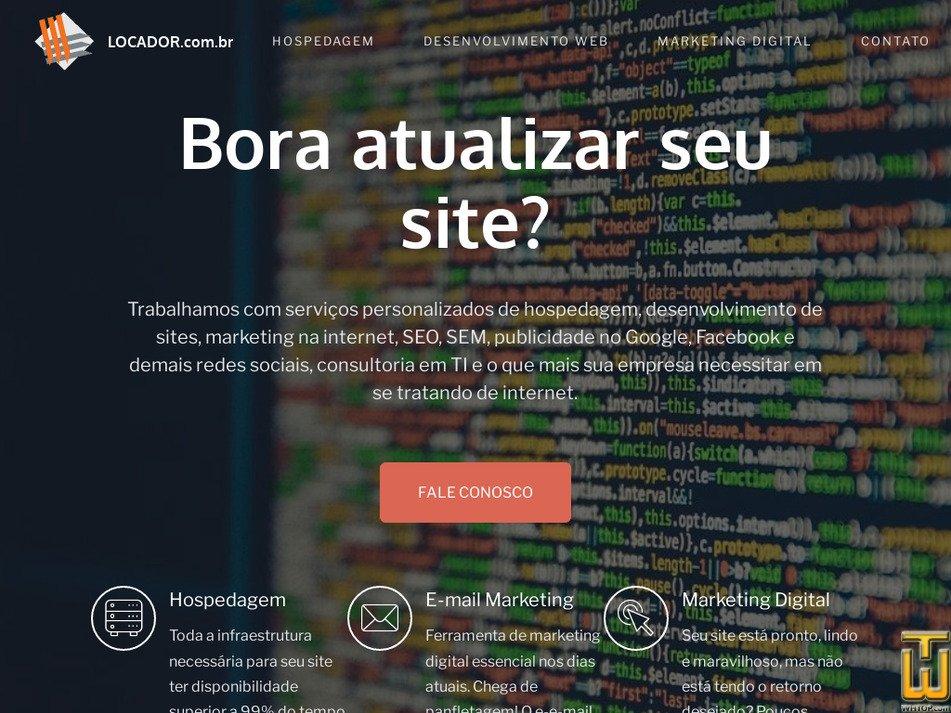 locador.com.br Screenshot