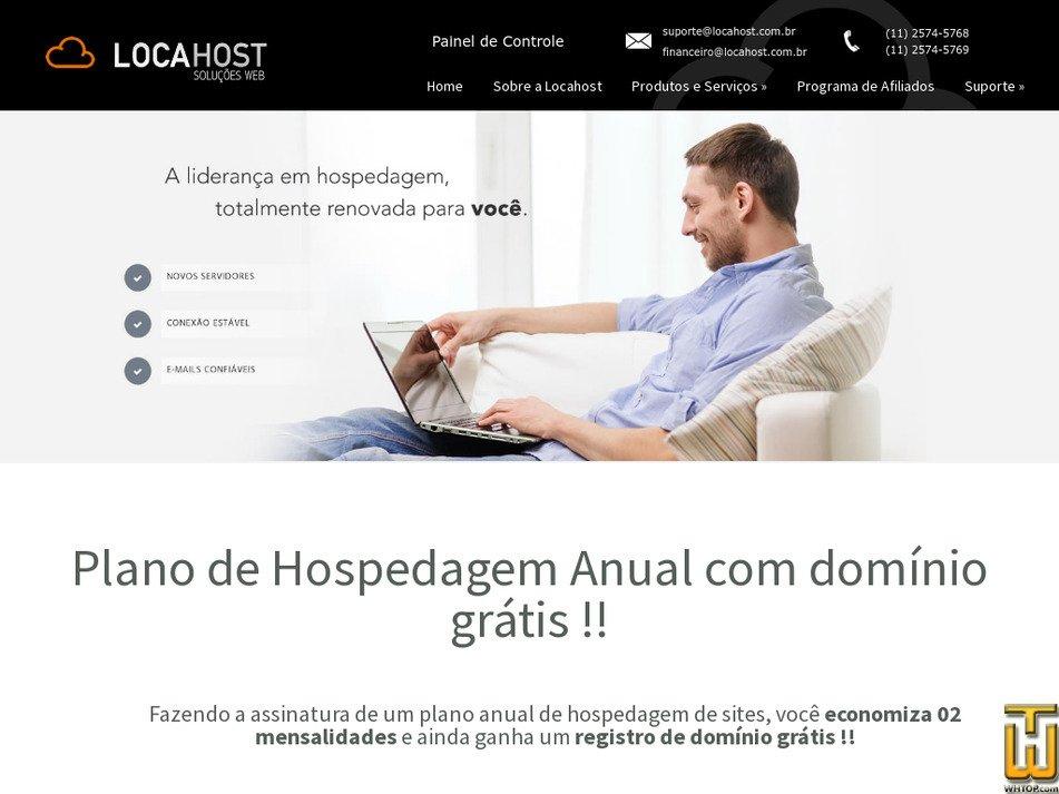 locahost.com.br Screenshot