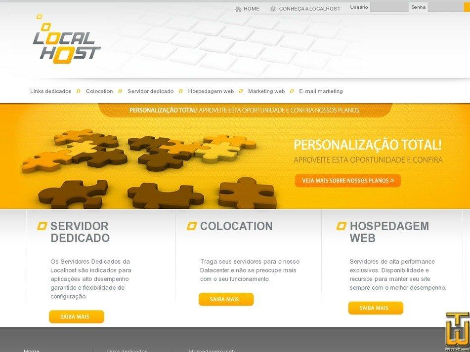 localhost.com.br Screenshot
