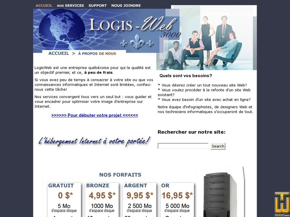 logisweb.net Screenshot