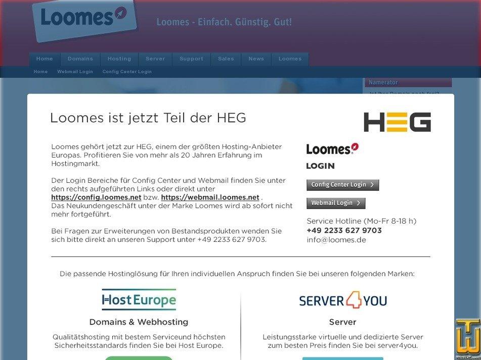 loomes.de Screenshot