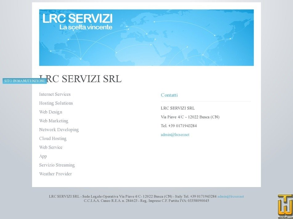 lrcser.net Screenshot