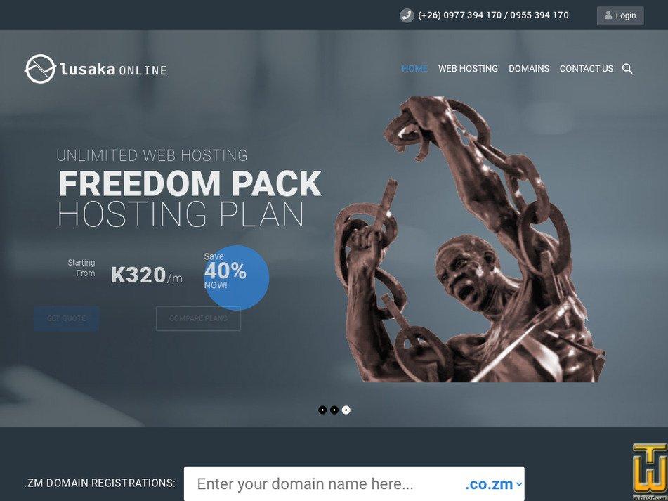 lusaka-online.com Screenshot
