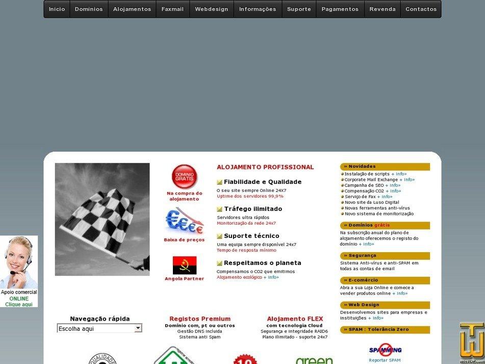 lusodigital.com Screenshot