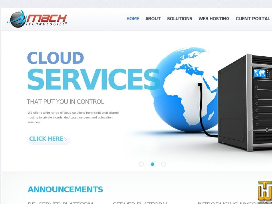 machtechcorp.net Screenshot
