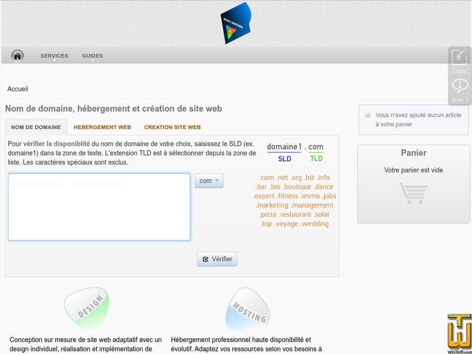 madahosting.com Screenshot