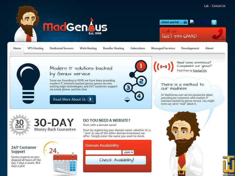 madgenius.com Screenshot