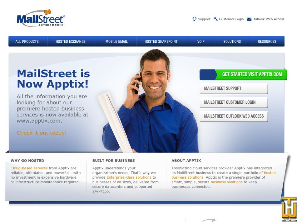 mailstreet.com Screenshot