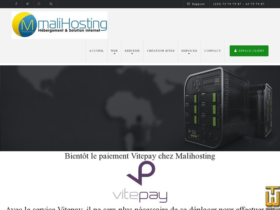 malihosting.com Screenshot