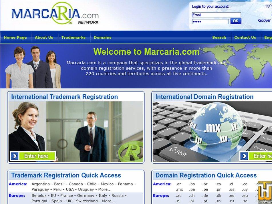 marcaria.com Screenshot