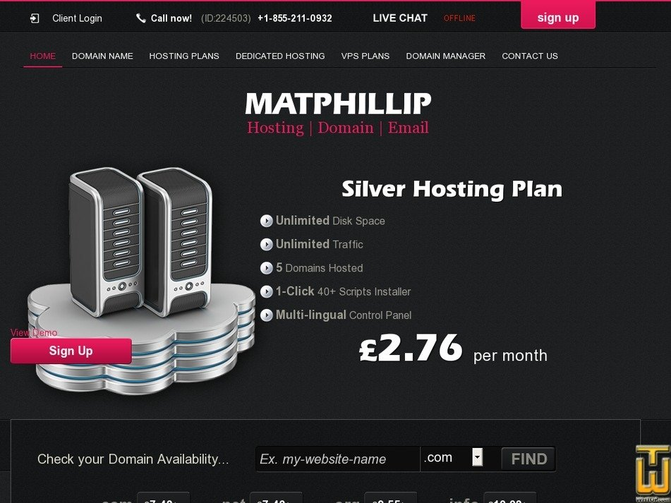 matphillip.co.uk Screenshot