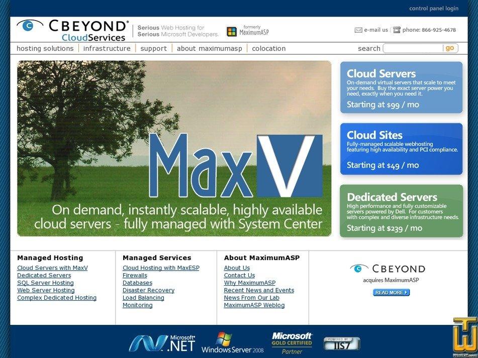 maximumasp.com Screenshot