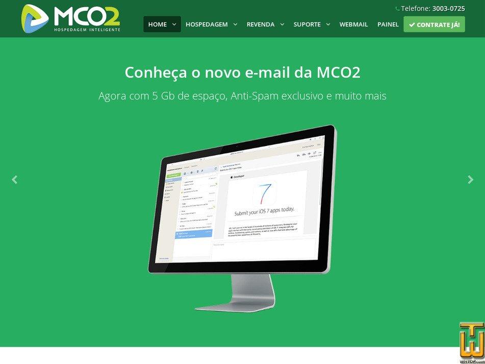 mco2.com.br Screenshot