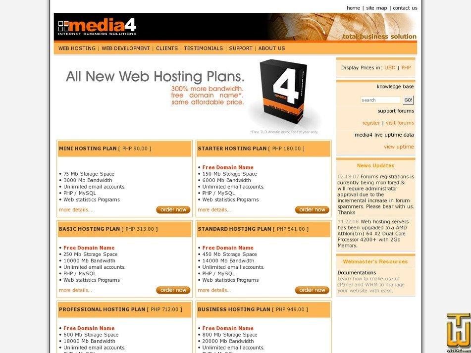 media4solutions.com Screenshot