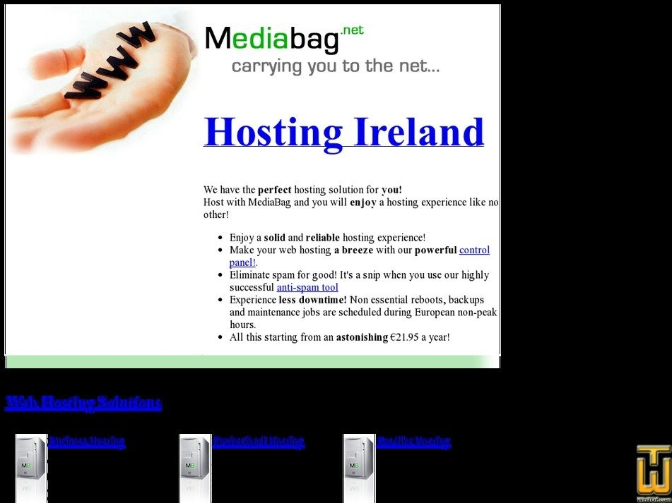mediabag.net Screenshot