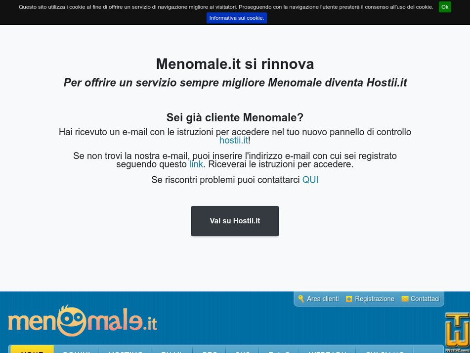 menomale.it Screenshot