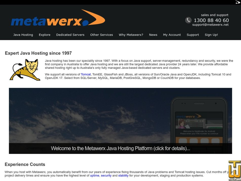 metawerx.net Screenshot