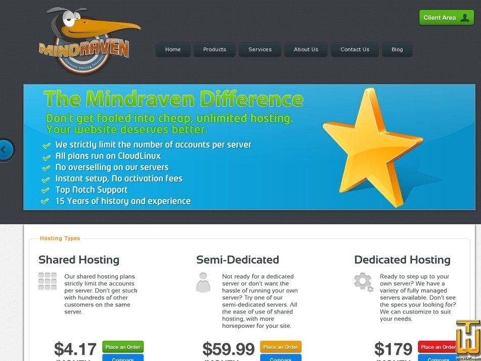 mindraven.com Screenshot